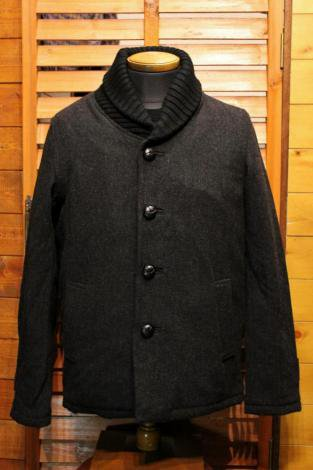FIVE BROTHER ファイブブラザー SHAWL COLLAR JACKET 150901 CHARCOAL