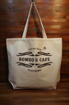ROMEO'S CAFE ロメオズカフェ ORIGINAL TOTE BAG RCEB-02 NATURAL