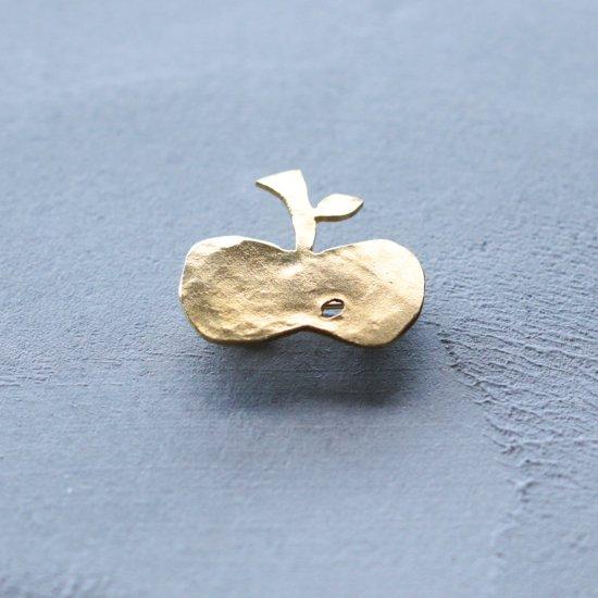 りんご|ブローチ