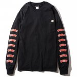 DVUS L/S Pocket T-shirts(Black)