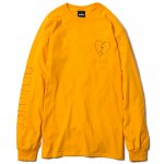 Neon L/S T-shirts(Yellow)
