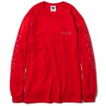 Woman Neon L/S T-shirts(Red)