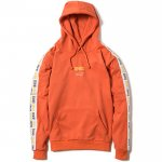 Line Pullover Hooded(Orange)