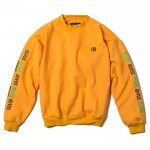 D Dropshoulder Crew Neck(Yellow)