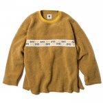 Woman Fleece Crewneck(Mustard)<img class='new_mark_img2' src='https://img.shop-pro.jp/img/new/icons1.gif' style='border:none;display:inline;margin:0px;padding:0px;width:auto;' />