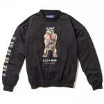 Broken Bear DropShoulder Crewneck(Black)