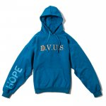DVUS Dropshoulder pullover Hooded(Blue)