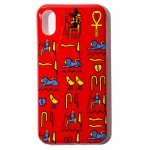 Hieroglyphica iPhone Case (Red)