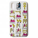 Hieroglyphica iPhone Case (White)