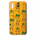 Hieroglyphica iPhone Case (Yellow)