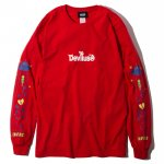 UFO L/S T-shirts(Red)<img class='new_mark_img2' src='https://img.shop-pro.jp/img/new/icons53.gif' style='border:none;display:inline;margin:0px;padding:0px;width:auto;' />