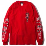 Hieroglyphic L/S T-shirts(Red)<img class='new_mark_img2' src='https://img.shop-pro.jp/img/new/icons53.gif' style='border:none;display:inline;margin:0px;padding:0px;width:auto;' />