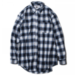 Check Shirts(Navy)