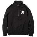 De Half Zip Sweat (Black)<img class='new_mark_img2' src='https://img.shop-pro.jp/img/new/icons53.gif' style='border:none;display:inline;margin:0px;padding:0px;width:auto;' />