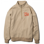 De Half Zip Sweat (Sand)<img class='new_mark_img2' src='https://img.shop-pro.jp/img/new/icons53.gif' style='border:none;display:inline;margin:0px;padding:0px;width:auto;' />