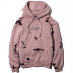 Paint Pullover Hooded(Salmon)