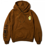 STAND AGAINST  Pullover Hooded(Brown)