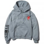 STAND AGAINST  Pullover Hooded(Dull Blue)