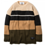Knit Crew Neck(Khaki-Olive)<img class='new_mark_img2' src='https://img.shop-pro.jp/img/new/icons53.gif' style='border:none;display:inline;margin:0px;padding:0px;width:auto;' />