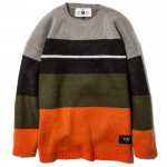 Knit Crew Neck(Gray-Orange)<img class='new_mark_img2' src='https://img.shop-pro.jp/img/new/icons53.gif' style='border:none;display:inline;margin:0px;padding:0px;width:auto;' />