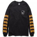 Draw L/S T-shirts(Black)