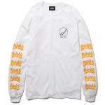 Draw L/S T-shirts(White)