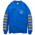 Draw L/S T-shirts(Blue)