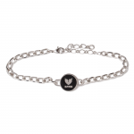 Coin Bracelet(Black)<img class='new_mark_img2' src='https://img.shop-pro.jp/img/new/icons1.gif' style='border:none;display:inline;margin:0px;padding:0px;width:auto;' />