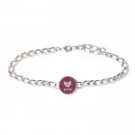 Coin Bracelet(Plum)<img class='new_mark_img2' src='https://img.shop-pro.jp/img/new/icons1.gif' style='border:none;display:inline;margin:0px;padding:0px;width:auto;' />