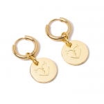 Heartaches Coin Pierce(Gold)<img class='new_mark_img2' src='https://img.shop-pro.jp/img/new/icons1.gif' style='border:none;display:inline;margin:0px;padding:0px;width:auto;' />
