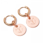 Heartaches Coin Pierce(Pink Gold)<img class='new_mark_img2' src='https://img.shop-pro.jp/img/new/icons1.gif' style='border:none;display:inline;margin:0px;padding:0px;width:auto;' />