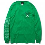 Taco Club L/S T-shirts(Green)
