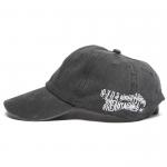 Wavy Pigment Cap(Black)