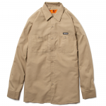 Work Shirts(Khaki)<img class='new_mark_img2' src='https://img.shop-pro.jp/img/new/icons53.gif' style='border:none;display:inline;margin:0px;padding:0px;width:auto;' />