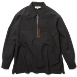 Half Zip L/S Shirts(Black)