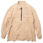 Half Zip L/S Shirts(Khaki)