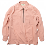 Half Zip L/S Shirts(Salmon)