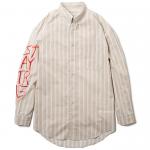 Stripe Shirts(Khaki)