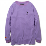 Heartache L/S  T-shirts(Lavender)<img class='new_mark_img2' src='https://img.shop-pro.jp/img/new/icons1.gif' style='border:none;display:inline;margin:0px;padding:0px;width:auto;' />