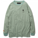 Heartache L/S  T-shirts(Sea Green)<img class='new_mark_img2' src='https://img.shop-pro.jp/img/new/icons1.gif' style='border:none;display:inline;margin:0px;padding:0px;width:auto;' />