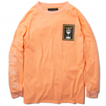 Good Life L/S T-shirts(Peach)<img class='new_mark_img2' src='https://img.shop-pro.jp/img/new/icons1.gif' style='border:none;display:inline;margin:0px;padding:0px;width:auto;' />