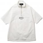 Half Zip S/S Shirts(White)