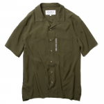 Open Collar Shirts(Olive)