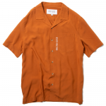 Open Collar Shirts(Apricot)