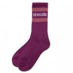 Line Socks(Purple)<img class='new_mark_img2' src='https://img.shop-pro.jp/img/new/icons1.gif' style='border:none;display:inline;margin:0px;padding:0px;width:auto;' />