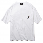 Deserve Better Big Pocket T-shirts(White)