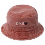 Devil Pigment Bucket Hat(Apricot)