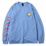 Fallen Angel L/S T-shirts(Mid Blue)