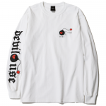 Bomb L/S  T-shirts (White)<img class='new_mark_img2' src='https://img.shop-pro.jp/img/new/icons53.gif' style='border:none;display:inline;margin:0px;padding:0px;width:auto;' />
