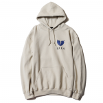 Heart Pullover Hooded (Sand)